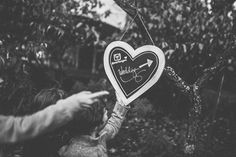 Jess + Ryan | Mariages Cools Mariage | Queen For A Day - Blog mariage ---- #signalétique #coeur #heart #love #married #mariage #wedding