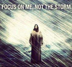 Storms of life. If only it wasn't so hard.
