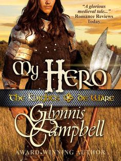 Knights of de Ware Trilogy book 3: MY HERO Unlike his warrior brothers, Sir Garth de Ware has retreated to the Church to escape the unbridled desire that nearly destroyed him as a youth.  But a beautiful healer from his past—Lady Cynthia le Wyte—is not about to let him brood away in a monastery.  She sweeps into Garth's life, reawakening his passions and challenging his vows of silence and celibacy.  And ultimately, Garth is forced to choose between his holy calling and the calling of his…