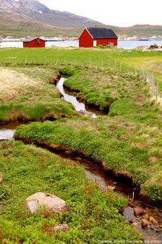 Tromvik Village ~ Kvaløya Island, Norway