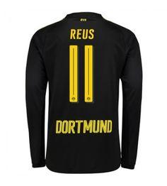 Billiga Dortmund Marco Reus 11 Bortatröja 17-18 Långärmad Sports, Tops, Fashion, Marco Reus, Borussia Dortmund, Hs Sports, Moda, Fashion Styles, Sport