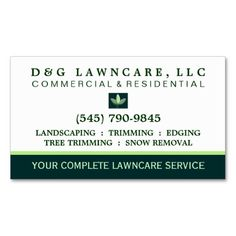 The 150 best landscaping business cards images on pinterest lawncare or landscaping square leaf business card colourmoves