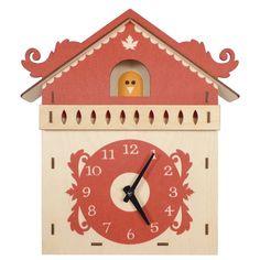 Art Wall Wooden Clock – Cuckoo