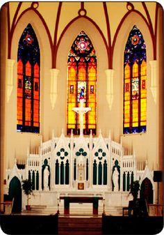 Immaculate Conception Main Altar-Toledo, Ohio