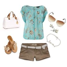 summer!, created by krtlove on Polyvore.