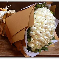 White Charm : buy flowers online, buy cake online, send flowers, cakes to India How To Wrap Flowers, Send Flowers, Large Flowers, Beautiful Flowers, Wedding Flowers, Flower Bouquets, Fresh Flowers, White Roses, White Flowers