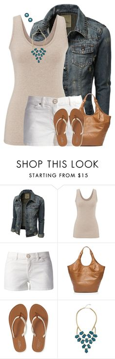 """""""Flip Flops"""" by houston555-396 ❤ liked on Polyvore featuring maurices, Pinko, Tory Burch, Aéropostale, GUESS by Marciano and Honora"""