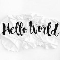 Crib Sheet Hello World ✖️ Shop Now at WoolfWithMe.com #woolfwithme #babybedding #cribsheet #personalized #helloworld #babyshowergift