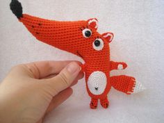 Crochet Fox / Mothers Day. Amigurumi Fox from innakozachuk on