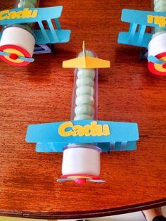 Fru Fru & Cia | Pequeno Principe - Cadu Bueno 1 ano - tubete avião