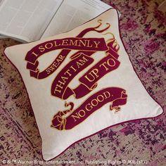 HARRY POTTER™ Marauder's Map Pillow Cover | PBteen