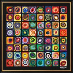 Color of Squares Art Print for sale. Shop your favorite Wassily Kandinsky Color of Squares Art Print without breaking your banks. Class Art Projects, Collaborative Art Projects, Classroom Art Projects, Art Classroom, Wassily Kandinsky, Kadinsky Art, Kandinsky For Kids, Atelier D Art, Ecole Art