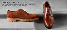 Shop by Style: Oxfords from John Varvatos, Kenneth Cole & More - http://tieasy.net/shop-by-style-oxfords-from-john-varvatos-kenneth-cole-more/