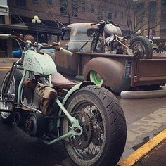 wastelandwarrior4:  Rat Rod n Bikes