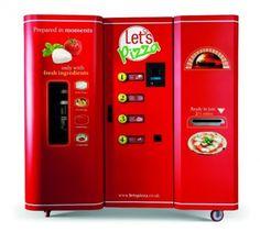 Distributore automatico di pizza: Let 's Pizza