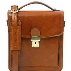 david - leather crossbody bag - small size