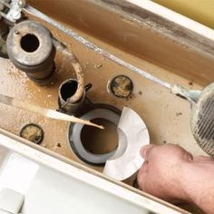 How to fix a running toilet!! Somebody help me do this quick...so tired of hearing the toilet run!!
