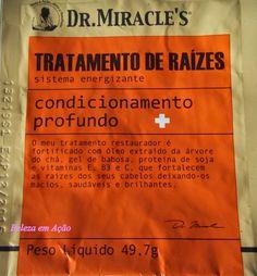 BELEZA EM AÇÃO: Tratamento de Raízes Dr. Miracle's