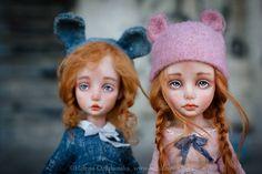 Artist art doll by Helena Oplakanska