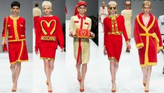 Delightful Latest Fashion Show 2014 -15 Women's Collection Inspired by McDonalds