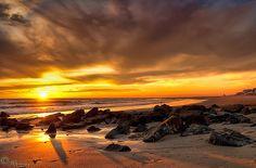 Coast - sunset