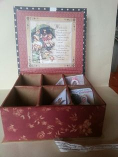 Altered ABC tags box