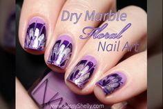 Floral Dry Marble /