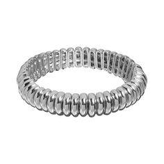 Stretch Bracelet in silver, gold and tri-tone!