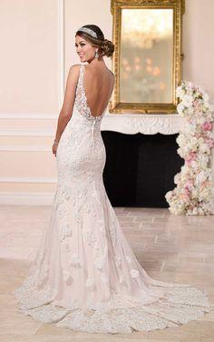 Sparkling Train Wedding Dresses | Stella York