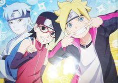 """Boruto -Naruto Next Generations- New Team 7 """