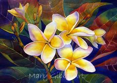 Art of Mary Gibbs  plumaria