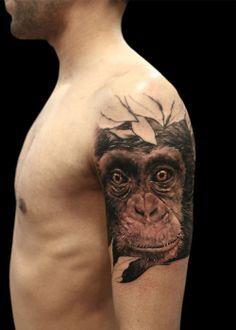 ... tattoos tattoo ideas piercing ideas chimpanzee tattoo tattoo s