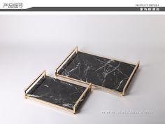 現代簡約新中式餐桌托盤烤漆木質長方形茶盤茶托夢幻花紋客廳擺件-淘宝网全球站