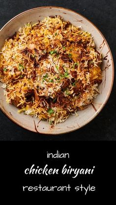 restaurants restaurant chicken biryani indian style great this make how is chicken biryani indian restaurant style This is how Indian restaurants make great chicken biryaniYou can find Indian restaurants and more on our website Indian Food Recipes, Healthy Recipes, Ethnic Recipes, Indian Foods, Indian Snacks, Indian Dishes, Spicy Recipes, Chicken Recipes, Healthy Food
