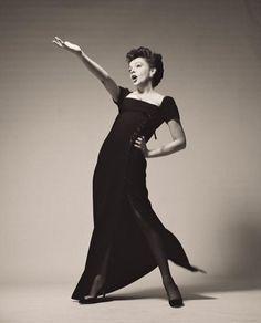 Judy Garland by Richard Avedon