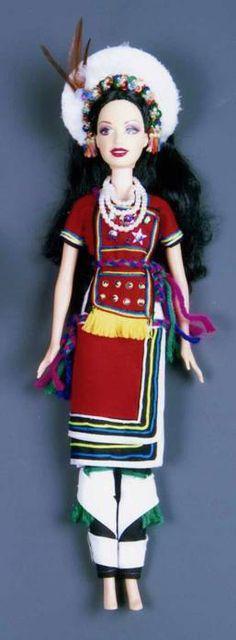 原住民風情娃娃-阿美族公主  Barbie Taiwanese Ami style