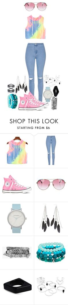 """""""Ayyyyo peeps"""" by galaxygirl12427 ❤ liked on Polyvore featuring Glamorous, Converse, Minnie Rose, The Horse, Charlotte Russe, Boohoo, Marni and Eva Fehren"""