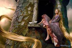 Taylor Swift como Rapunzel