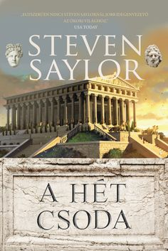 Steven Saylor: A hét csoda Ramona Books, Red Books, Stevia, Books Online, Pizza, Bronze, Digital, Shop, Etsy