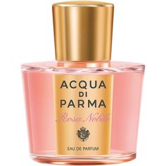 Acqua di Parma Women's Rosa Nobile Eau de Parfum Natural Spray -100 ml ($183) ❤ liked on Polyvore featuring beauty products, fragrance, perfume, beauty, makeup, fragrances, parfum, fillers, colorless and no color