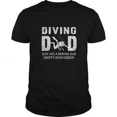 Awesome Tee Scuba Diving tee Diving Dad Gifts For Father Scuba Diving Men Tshirt T shirt
