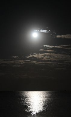 I took this photo on Sunday as the full moon rose over the sea.