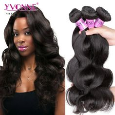 #Grade 5A 100% Peruvian Body Wave Hair Weave Color #2