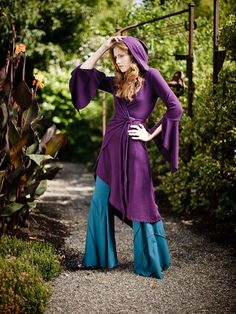 Epona Cloak with Circular Flare Pant - Click Image to Close