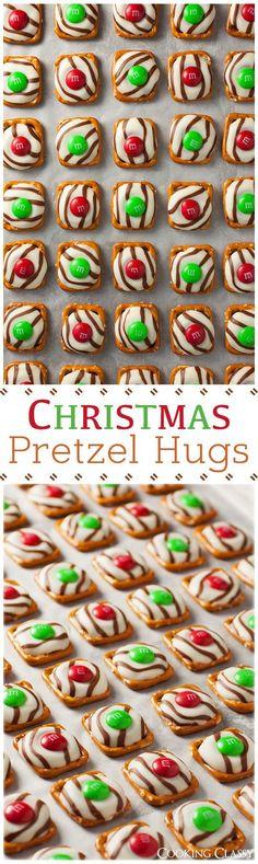 Christmas Pretzel Hu