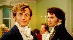 Bingley and Mr. Darcy, Pride and Prejudice 1995