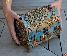 сундук - изделия из дерева, авторская шкатулка/копилка. МегаГрад - online выставка-продажа авторской ручной работы