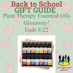 Welcome to the Plant Therapy Essential Oils Giveaway! This is part of our Back To School Gift Guide, so please check it out! This contest is hosted by the Social Media Gurus Network! Below is a list of all the bloggers involved in the gift guide. Michigan Saving and More Deliciously Savvy Tales From A …