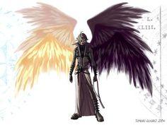 wings made of darkness | Dark Angel ó Light Angel? - Existen seres que son puramente buenos y ...