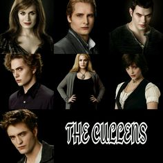 Presenting the awesome sauce Cullens!!!!